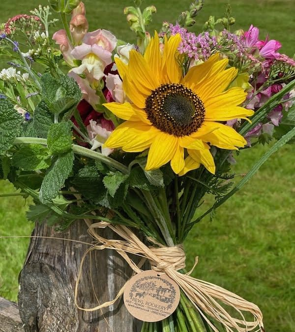Hand-Tied-Summer-Bouquet